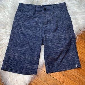 Free Planet Boys Size 8 Navy Lightweight Shorts